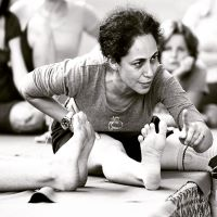 Iyengar yoga with Gulnaaz Dashti